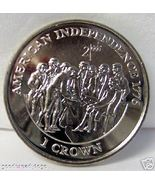 IOM MILLENIUM AMERICAN INDEPENDENCE CROWN '98 CUNI COIN - $22.99