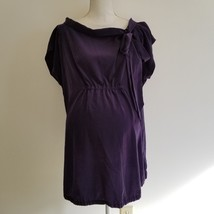 Gap Maternity Purple Blouse Top Large - $25.00