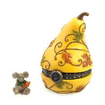 """Boyds Treasure Box """"Aubrey's Gourd w/ Oakley McNible"""" #4035823 -1E-NIB-2013 - $23.99"""