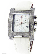 Aqua Master stainless steel 2.75CT genuine diamonds Square watch - $699.99