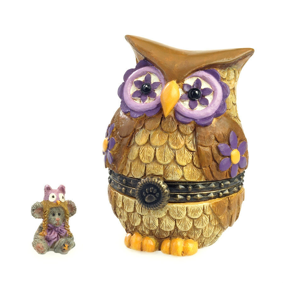 "Primary image for Boyds Treasure Box ""Ms. Wise w/Hootie McNibble""#4035824- 1E-NIB-2013- Retired"