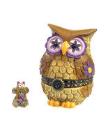 "Boyds Treasure Box ""Ms. Wise w/Hootie McNibble""#4035824- 1E-NIB-2013- Re... - $23.99"