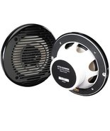 Jensen MS5006B 5.25 Inch Black Marine Grade Dual Cone Speakers outdoor e... - $37.95