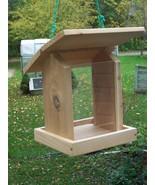 Large Platform Bird feeder,(Built from (Cedar),Easy to fill. - $56.95