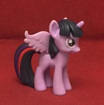 "My Little Pony Princess Twilight Sparkle 3"" plastic toy unicorn purple MLP - $2.00"
