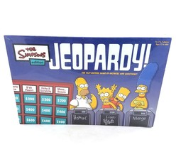 The Simpsons Edition Jeopardy Family Board Game Pressman 2003 NEW Factor... - $29.62