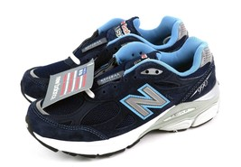 New Balance 990 Blue Heritage Suede Running Shoes USA W990NV3 Women's 6/... - €59,48 EUR