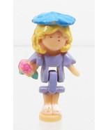 1994 Vintage Polly Pocket Dolls RARE Flower Surprise Ring - Polly Bluebi... - $8.00