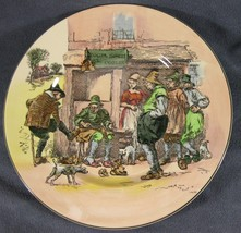 Royal Doulton Old English Scenes D6302 Dinner Plate Roger Simon El Cobbler - $69.97
