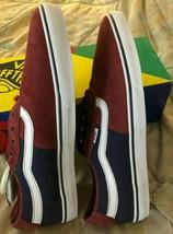 Geoff Rowley spv Pro Vans Shoes mens 13  NIB New Classic Rare Burgudy/Blue - $118.80