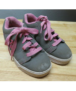 Girls Heelys Shoes Grey Pink Youth Size US 2 Style 770050  20.0 cm - $19.79