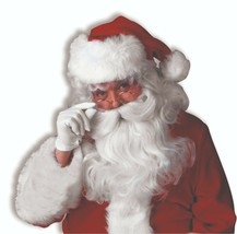 Forum Novità Deluxe Babbo Natale Parrucca Barba Accessorio Costume Hallo... - $20.89
