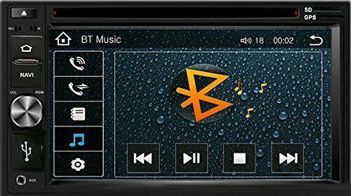 DVD CD GPS Navigation Multimedia Bluetooth Radio and Dash Kit for Honda Fit 2011 image 5