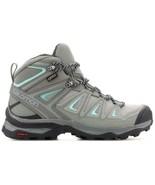 Salomon X ULTRA 3 MID GTX Womens Blue Grey Trail Hiking Boots Shoes Size... - $212.99