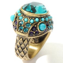 Heidi Daus Serpent Snake Design Crystal Ring - $58.95