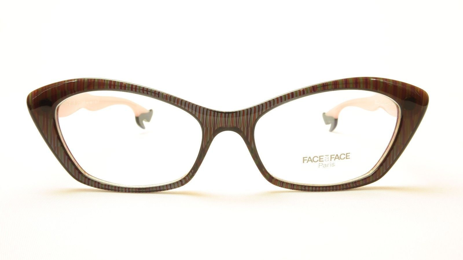 ee0961351fa Authentic Face A Face Bocca Rock 2 Col. 321 Violet White Eyeglasses Italy  Made