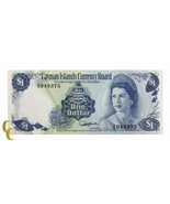 1974 Cayman Islands Moneda Board (Au ) About que No Ha Circulado Estado - $39.68