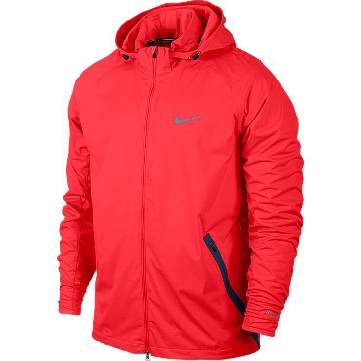 6c0d08203fc980 Nike 2015 Shield Light Running Jacket Men s SZ S SM 642360 671  200 MSRP  Crimson -  107.48