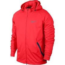 Nike 2015 Shield Light Running Jacket Men's SZ S SM 642360 671 $200 MSRP Crimson - $107.48
