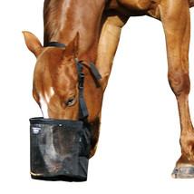Cashel Horse Size Equine Feed Rite Feeding Hay Bag Pink Blue Orange