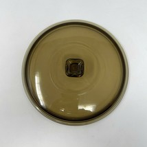 Anchor Hocking Amber Replacement Lid 1.5 QT Fits #1037 Covered Casserole... - $14.85