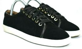 Vionic Women's 7 Black Suede Sneakers Walking Comfort Shoes Orthotics Brinley - $34.64