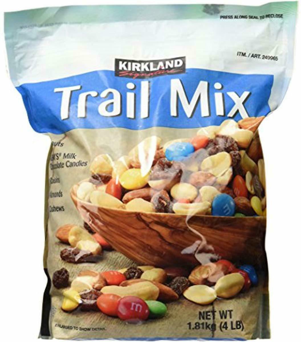 Kirkland Signature Signature Trail Mix, Peanuts, M and M Candies, Raisins, Almon - $42.26