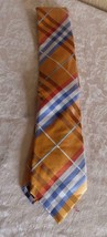 Geffrey Beene Pierre Plaid Brights Silk Necktie image 2
