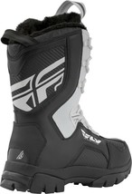 New Mens FLY Racing Marker Black/White Size 14 Snowmobile Winter Boots -40 F image 2