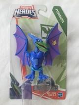 Chompin Action PLAYSKOOL HEROES JURASSIC WORLD PTERODACTYL Dinosaur Hasb... - $9.72