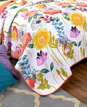 Watercolor Themed Quilted Pillow Sham - $19.96
