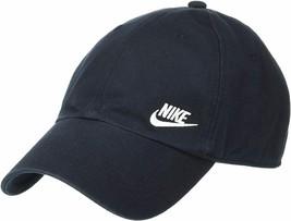 NEW! Nike Women's Heritage86 Futura Classic Cap-Black/White AO8662-010 - $49.38