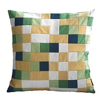 [I-go] Handmade Unique Grid Decorative Pillowcase 48CM - $21.16