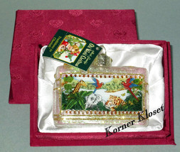 Merck Family's Old World Christmas Ornament - Inside Art - Animal World - NIB - $25.11