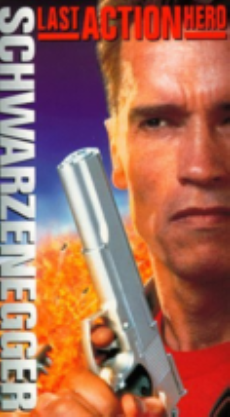 Last Action Hero Vhs