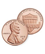2019 W Lincoln Shield Cent REVERSE Proof Special Edition Penny IN STOCK ... - $24.95