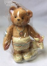 Cherished Teddies Wylie Called Little Friend Bear Indian Figurine 617121... - $14.95