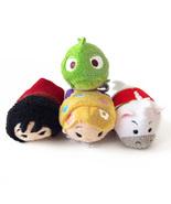 """Disney Tsum Tsum Mini 3.5"""" Plush - Tangled Set: Maximus, Pascal, Rapunze... - $14.00"""