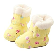 New Born Babies Soft Sole Winter Warm Crib Shoes Baby Shoes Toddler Shoes image 1