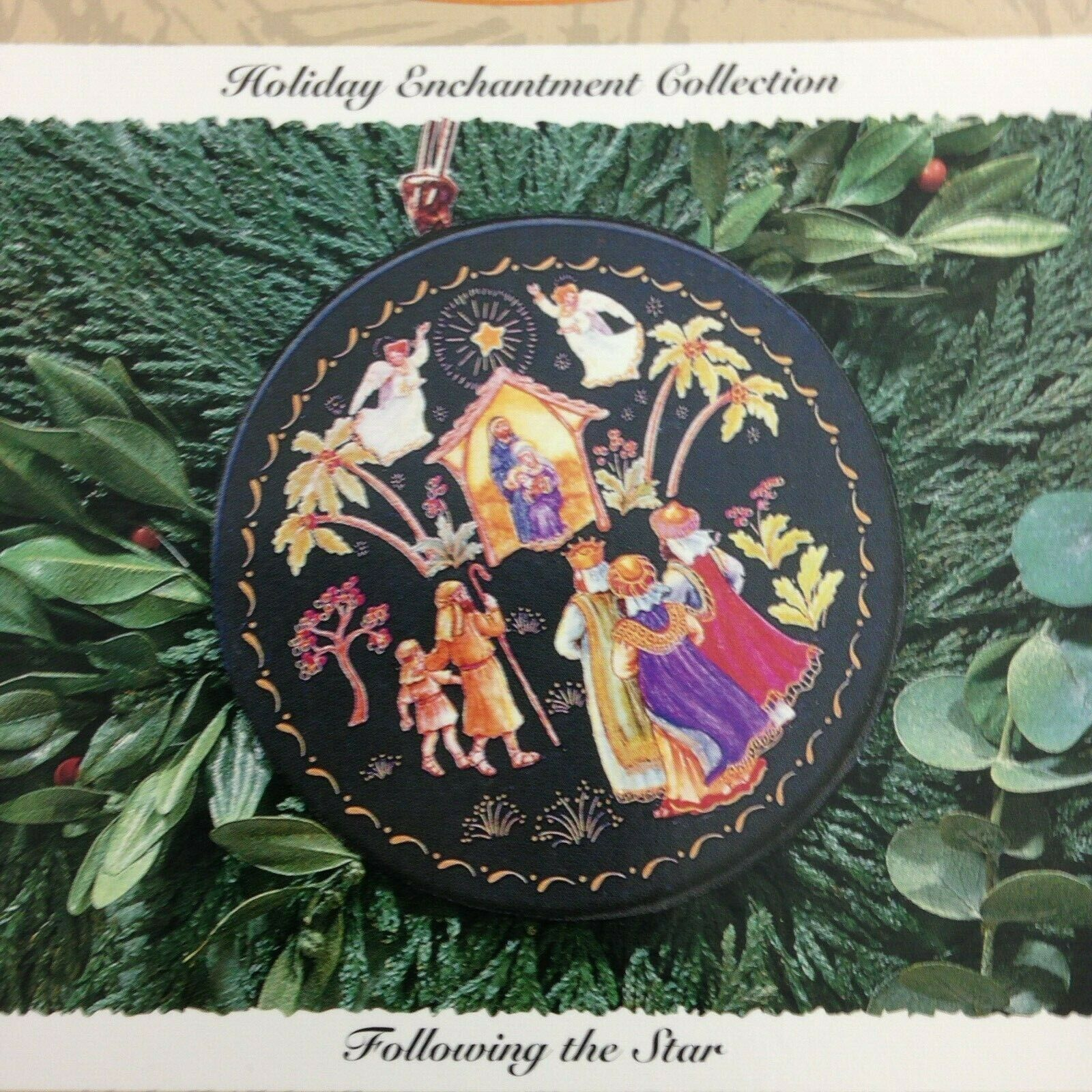 Keepsake Ornament Holiday Enchantment Collection Following The Star Showcase image 2
