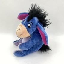 Disney Store Eeyore Plush Winnie the Pooh Doll Purple Donkey Stuffed Ani... - $14.84