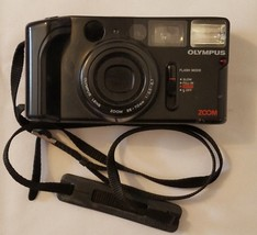 Olympus AZ-1 Zoom Film Camera 35-70 3.5-6.7 Black Pre Owned Tested - $24.74