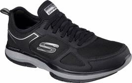 NEW Men's Skechers Burst Athletic Slip-On Memory Foam Shoes Black or Navy image 2