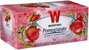 Wissotzky Pomegranate Herbal Tea -20 bags