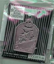 Jack tombstone LSB Nightmare Before Christmas Authentic Disney pin - $39.99