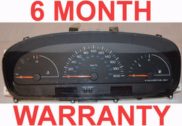 97 98 99 00 Dodge Caravan Instrument Cluster 4Spd NoTacho RED Plug DIGIT... - $118.75