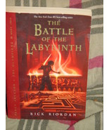 The Battle of the Labyrinth Bk. 4 by Rick Riordan (2009, Paperback) book - $4.00