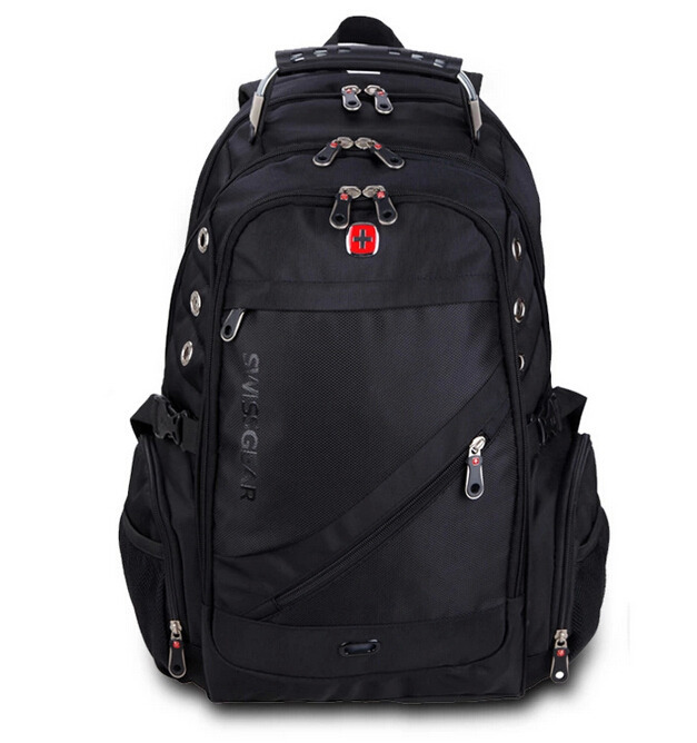 16 Inch High Quality 2015 Waterproof Laptop Backpack iPad Travel Swiss Gear Army