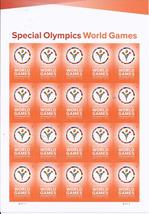 Los Angeles Apr 2015 Special Olympics World Games - 20 (USPS) FOREVER ST... - $15.95