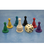 Basic Pawn Set with Six-Sided Die (Stuff and No... - $2.50